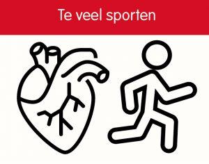 Te veel sporten