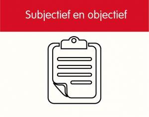 Subjectief en objectief